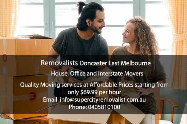 Removalists-Doncaster East Melbourne