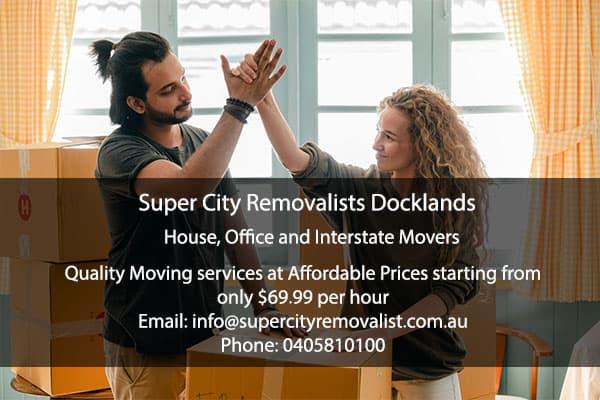 SuperCity Removalits Docklands