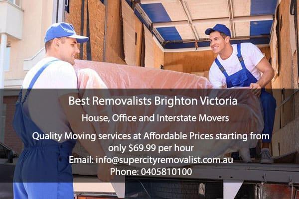Best Removalists Brighton Victoria