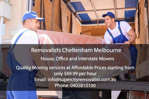 Removalists Cheltenham Melbourne