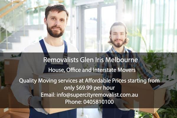 Removalists Glen Iris Melbourne